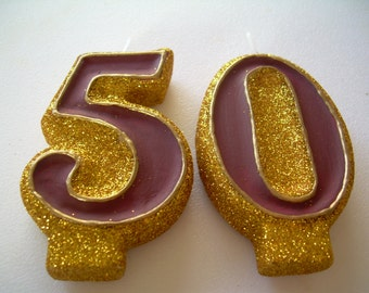 50th Wedding Anniversary Candles