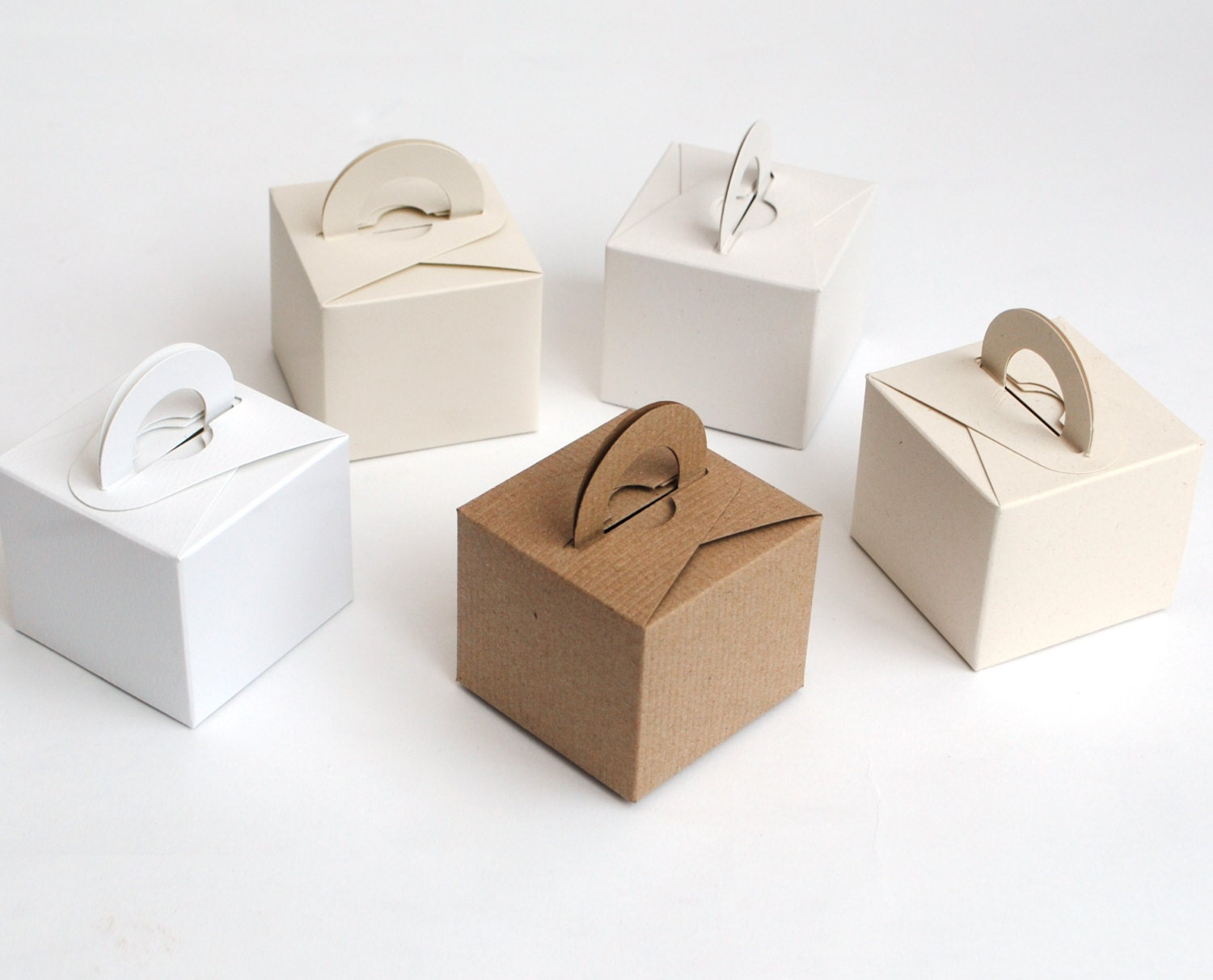 Gift Box Ballymena Wedding List : Recycled Card Favour Boxes small gifts or weddings Natural