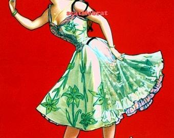 INSTANT DOWNLOAD. 1898 Ziegfeld Follies Anna Held. PRINTABLE Digital Download. 8 x 10