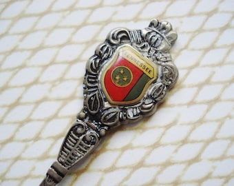Vintage Tennessee Souvenir Spoon - Crested Souvenir Spoon - Tennessee Souvenir