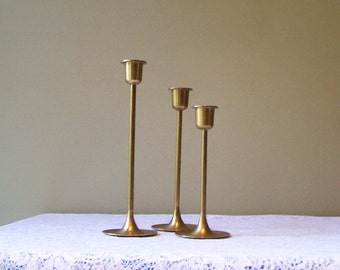Vintage candle holders candlesticks-instant collection-Brass