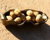 Bronze Relish Dish - Handmade pottery
