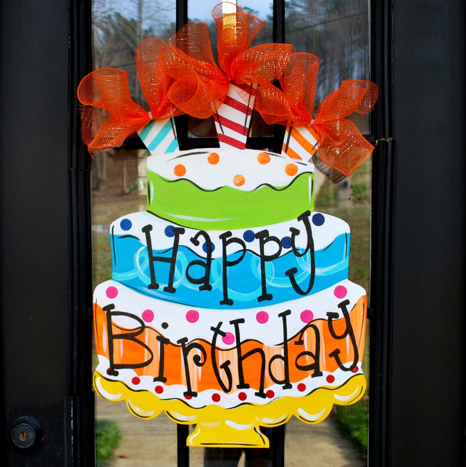 How To Decorate A Door For Birthday