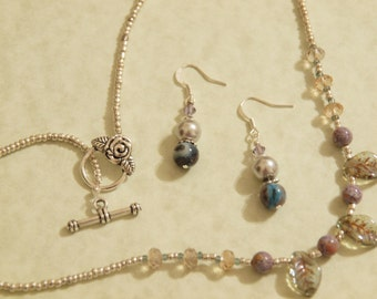 All Season Necklace and Earring set