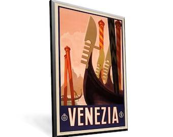 Venezia Vintage Travel Poster 8x13 PopMount Ready to Hang FREE SHIPPING