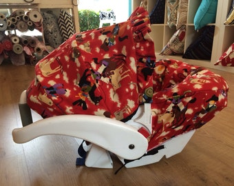 Infant Car Seat Cover, Hula Moon Infant Car Seat Cover in Country Western