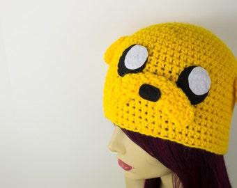 Crochet Adventure Time Inspired Jake Hat