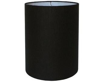 Custom Lamp Shade - Custom Lampshade - Black Lamp Shades - Linen Lamp Shade - Fabric Lamp Shade - Table Lampshades - Lamp Shades