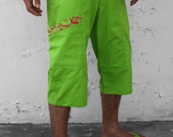 Green bermuda shorts – Spring