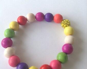 Gum ball Inspired Bracelet