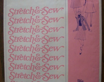 Stretch & Sew Pattern 425, Ladies Skirt