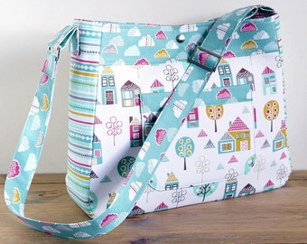 Diaper Bag Pattern Petite Street Nappy Bag Sewing Pattern PN803 by SusieDDesigns