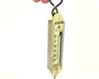 Viking Jr. Hanging Scale Vintage, Rustic, 25 lb Scale, Hanson Scale, Old Scale, Vintage Scale,