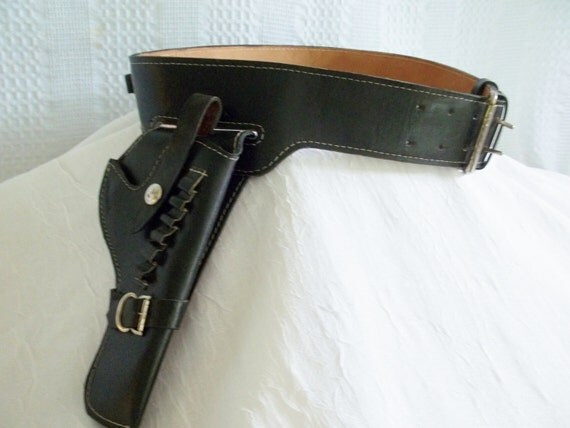 gun holster black leather gun holster gun belt bullet