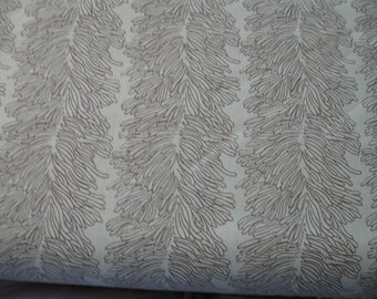 Curious Nature Fabric Coral Reef in Darkwater by Parson Gray (David Butler) for Free Spirit Fabrics 1 yard