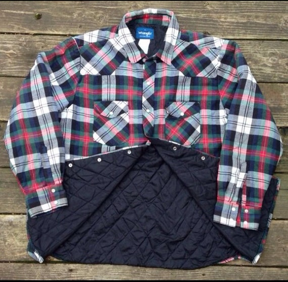 Flannel Shirt Jacket Quilted Lining | Fit Jacket : quilted lined flannel shirt - Adamdwight.com