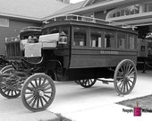 A Grand Wagon (FREE SHIPPING in the U.S.) - customized card, print or canvas