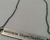 RESERVED - Embrace Imperfection