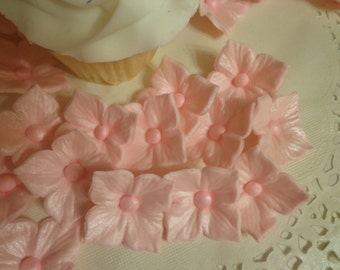 36 Gumpaste /Fondant Edible Hydrangea Blooms for cakes & cupcakes