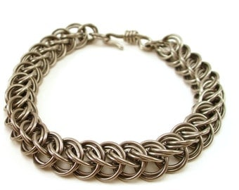 Chainmail Stainless Steel Bracelet