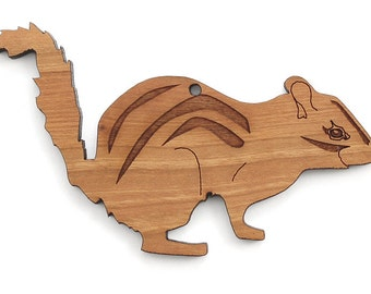 Chipmunk Ornament - Timber Green Woods Woodland Critter Collection
