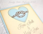 Vintage Style Knot Save the Date