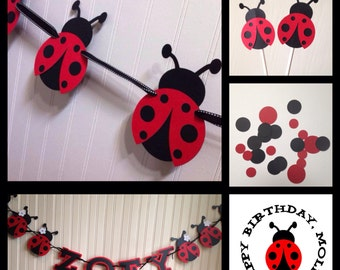 Lovely Ladybug Party Package