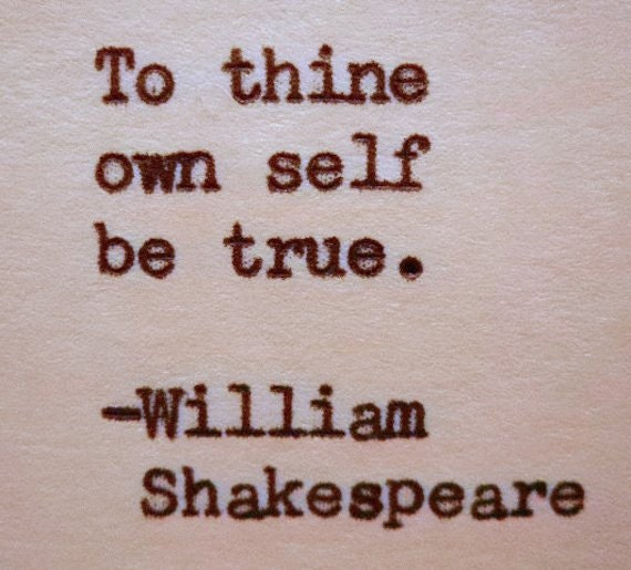 William Shakespeare Poetry Quotes: WILLIAM SHAKESPEARE Hand Typed Typewriter Quote Made With
