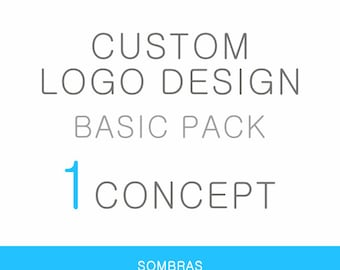 Custom Logo Design (Basic Pack) - Professional branding for your business - Custom and one of a kind