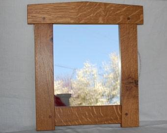 Craftsman Mirror - Quartersawn Oak