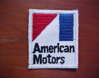 1970s American Motors AMC Patch New Old Stock  A-Mark Logo Mint Condition Never Used Now A Rare Collectible Must Be Sewn On