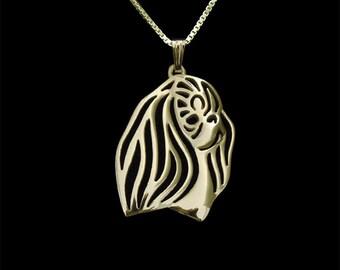 English Toy Spaniel jewelry - Gold