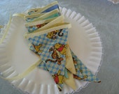 Pennant Banner, Bunting, Flag Banner, Banners 9 feet long, WINNIE THE POOH, Baby, Shower, Photo Shoot, Party, Nursery