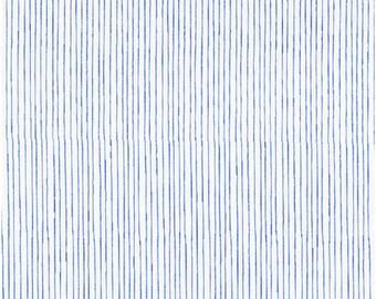 Pencil Stripe in Blue from Stof of Denmark