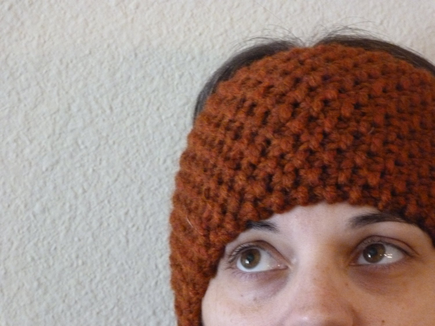 Simple Knit Headband Pattern : Knit Ear Warmer Headband Pattern INSTANT download
