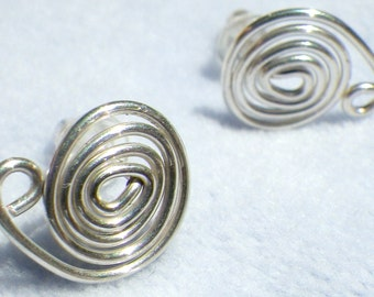 Post Sterling Silver Earrings