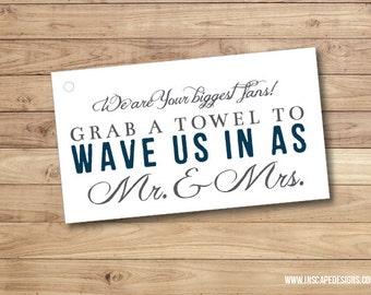 Printable Wedding Favor Tags