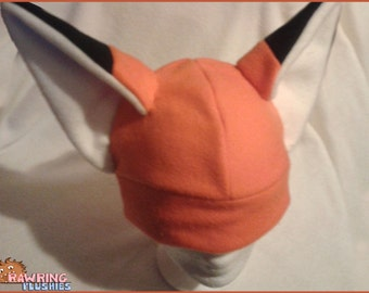 Foxy Ears - A Snuggly Warm Fleece Hat