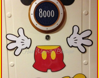 Mickey Mouse Body Part Magnet for Cruise Door