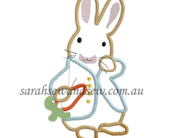 Peter Rabbit Embroidery Design