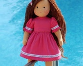 Waldorf doll -Pauline2-15 inches, custom dolls for children , daughter of a gift