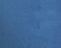 """Solid Velvet Upholstery Fabric - ROYAL - 59"""" Width Sold By The Yard"""