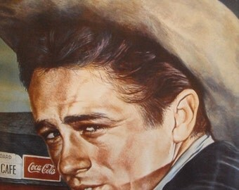 1984 James Dean poster, 24 x 36 inches