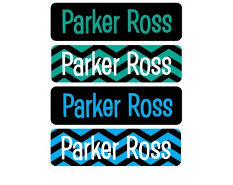 Dishwasher Safe Labels, Great for daycare, preschool, school, camp and more - 4 Pre-made Designs