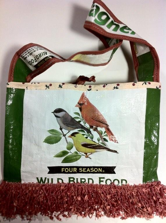 Cardinal Bird Bag