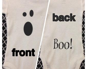 Baby Ghost Onesie // Baby Ghost Bodysuit // Ghost Shirt