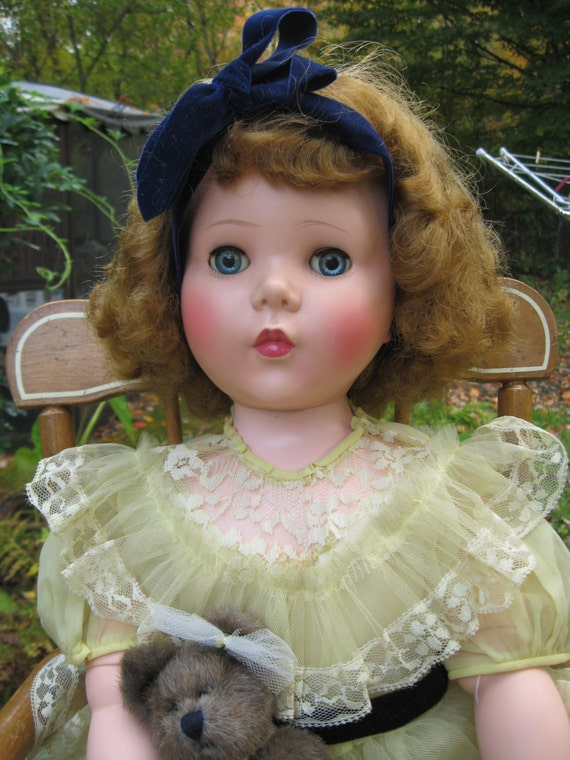 Madame Alexander Walker Playpal Mary Ellen Doll 31 Inches 1955