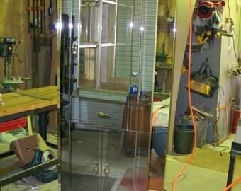 Custom made Mirrored Corner Cabinet