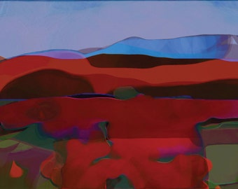 Surrealistic Landscape - Pigment Print