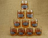 Personalized Mason Jar Shot Glasses - Chalkboard Style Label - Mason Jar Shot Glasses - 50 pieces - Mini Mason Jar